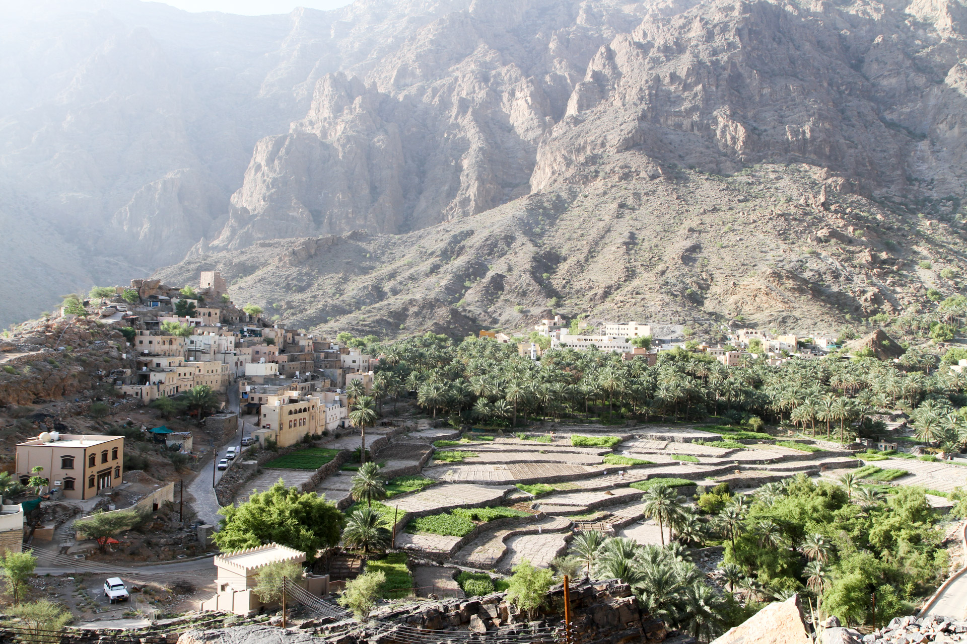 Hajdar Mountains - View of the village Bilad Sayd.