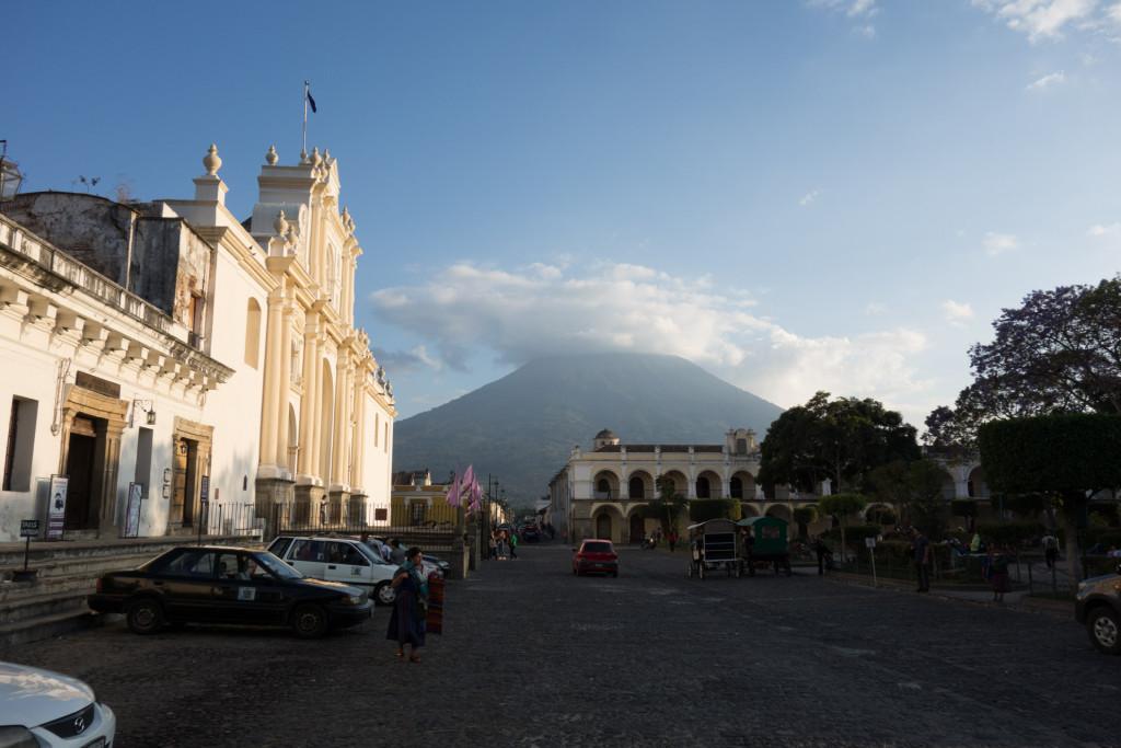 Noch einmal der Volcan de Agua :)
