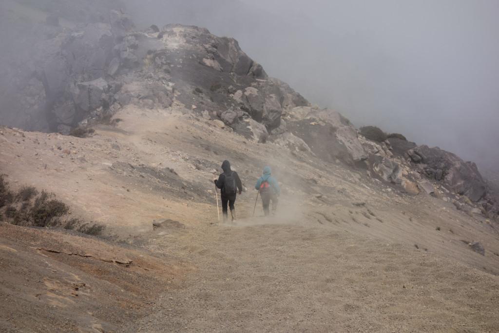 Abstieg - deutlicher flotter als der Aufstieg.